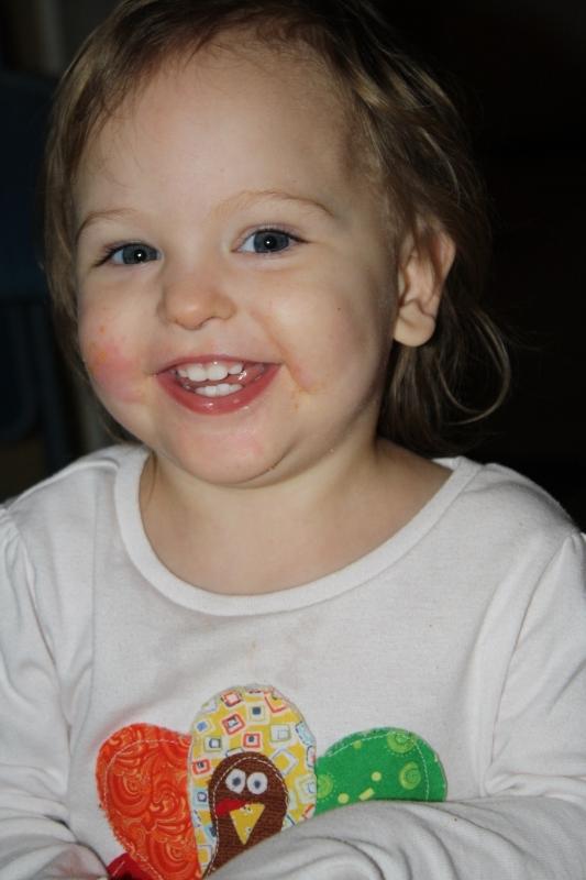 Tirzah Mae smiling