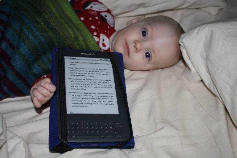 Louis and my kindle