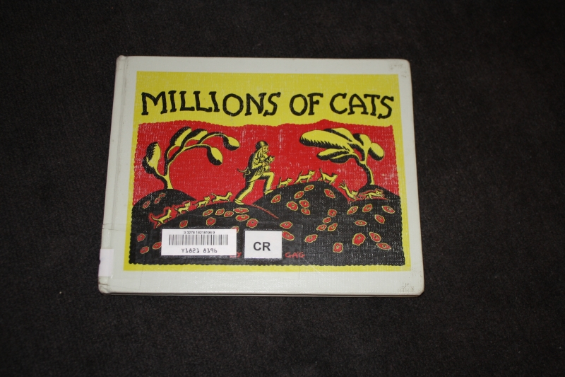 "Cover art for ""Millions of Cats"""