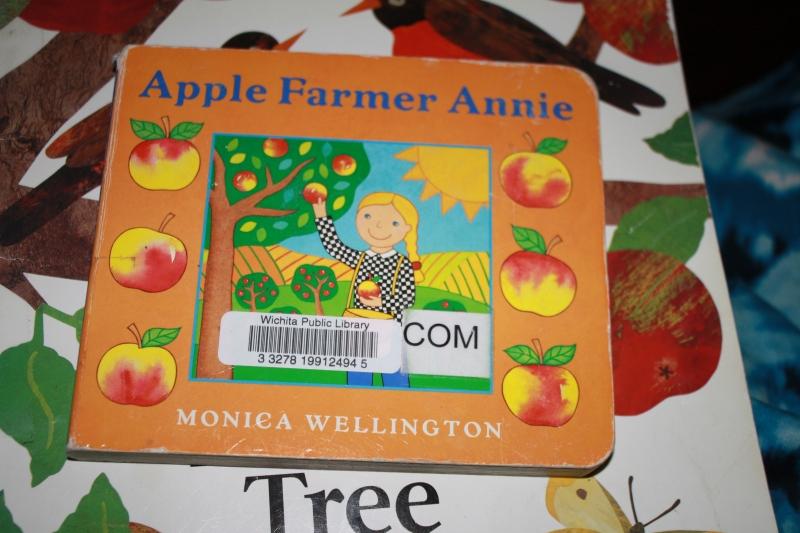 """Apple Farmer Annie"" by Monica Wellington"