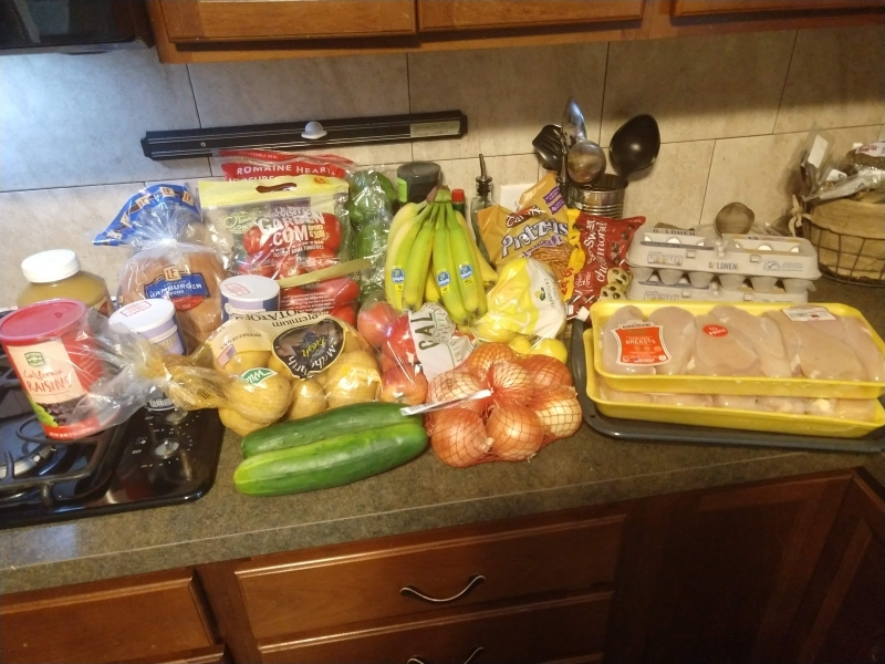 Our ALDI haul
