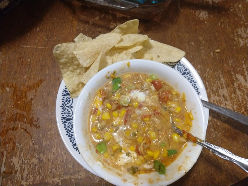 Loaded Chicken Tortilla Soup