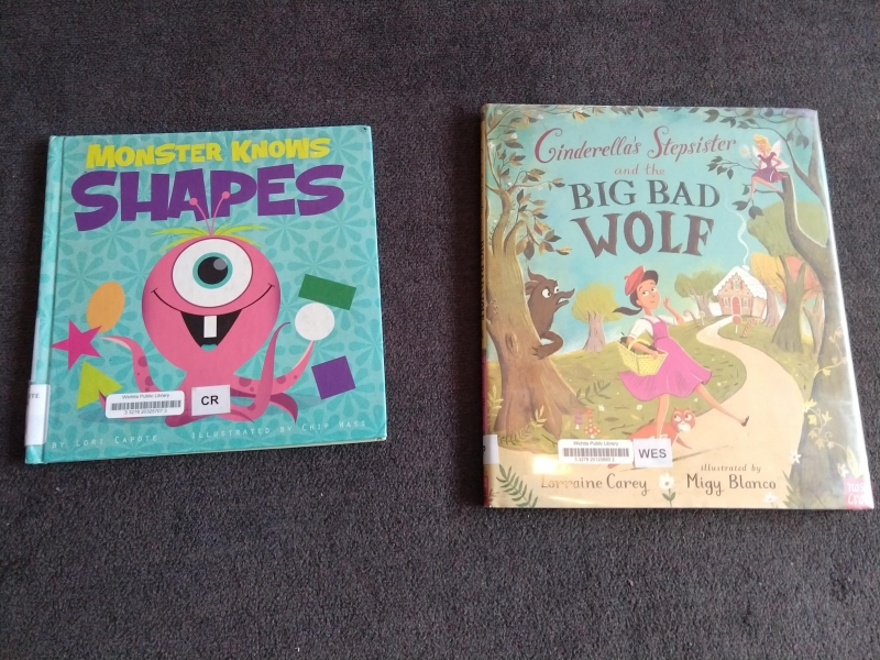 """Monster Knows Shapes"" and ""Cinderella's Stepsister and the Big Bad Wolf"""