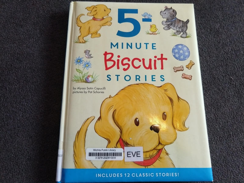"""5 Minute Biscuit Stories"" by Alyssa Satin Capucilli"