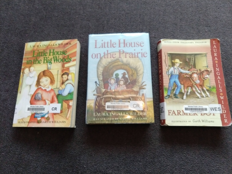 "Three ""Little House"" Books"