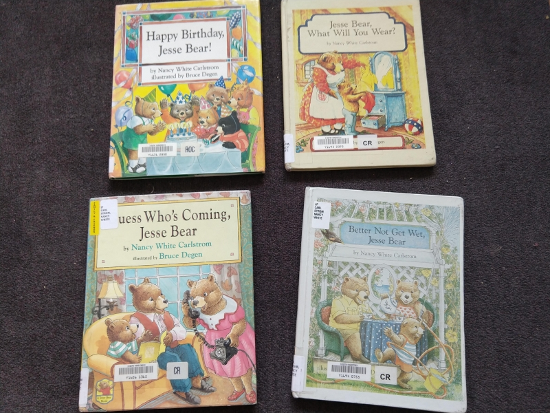 """Jesse Bear"" books"