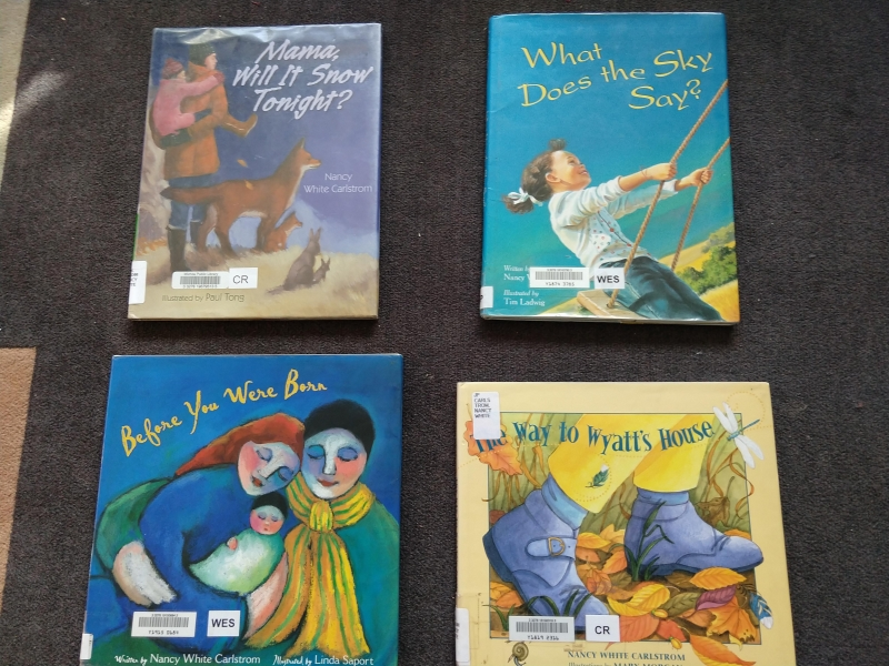 Books by Nancy White Carlstrom