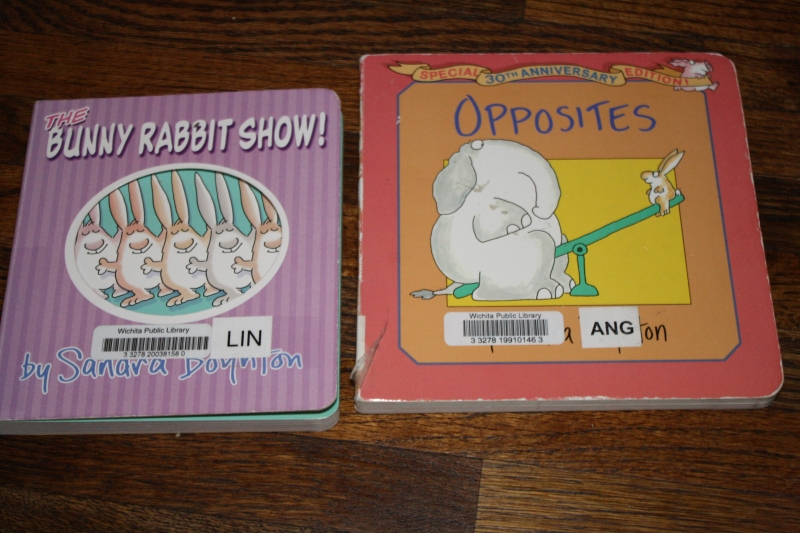 """The Bunny Rabbit Show"" and ""Opposites"""