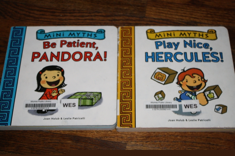 Mini Myths: Pandora and Hercules