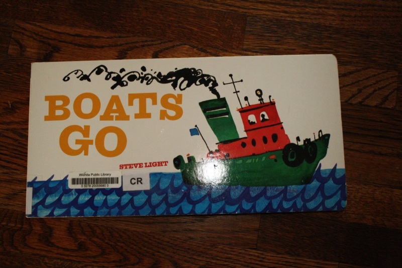 Boats Go by Steve Light