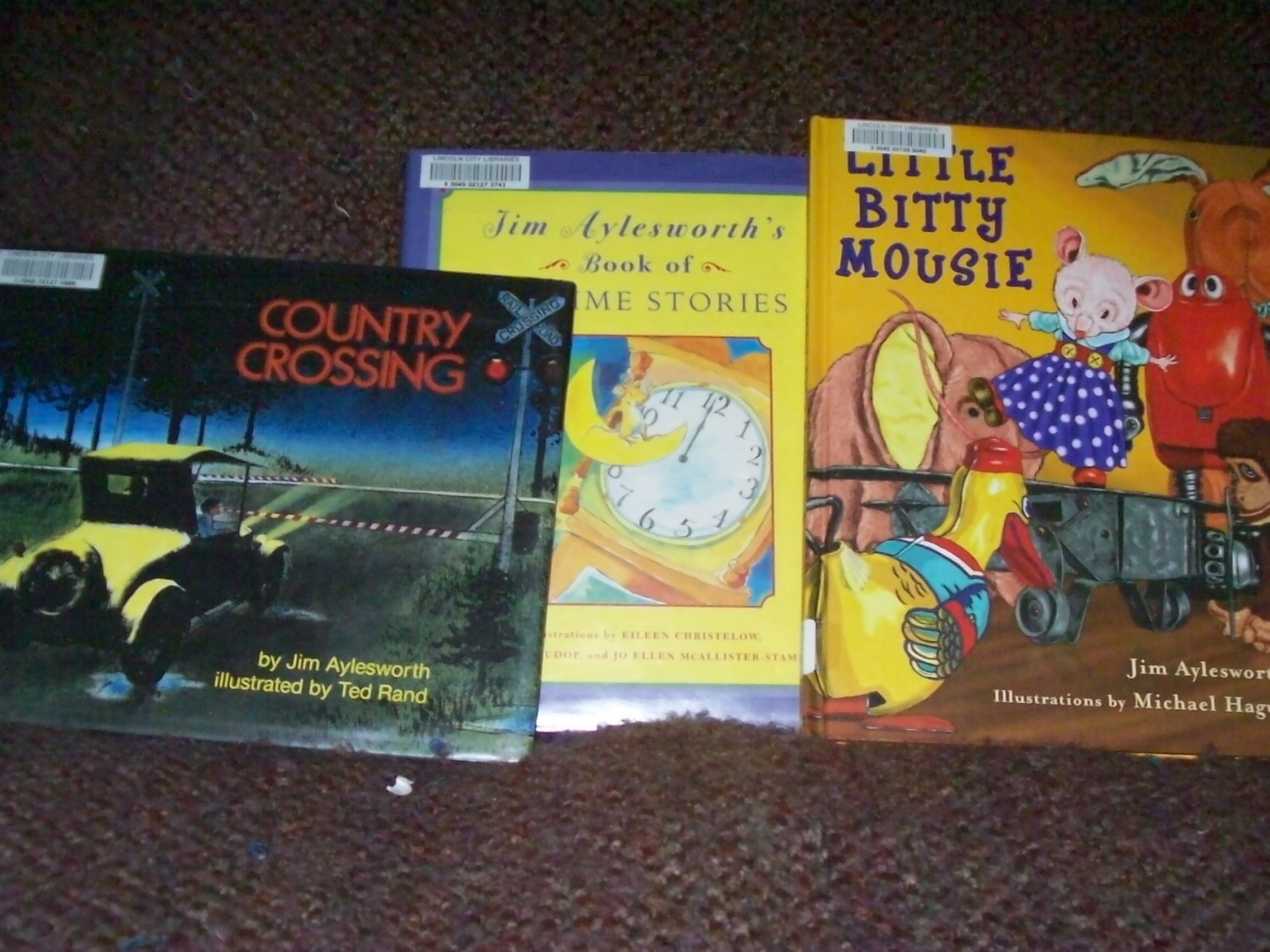 Children's books by Jim Aylesworth