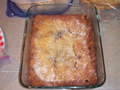Patsy's Blackberry Cobbler