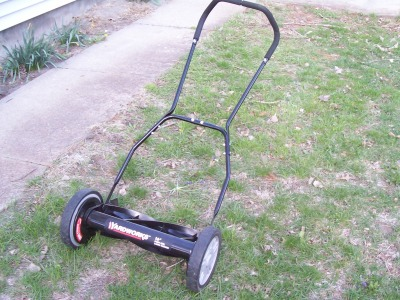 Old-Style Push Lawn Mower