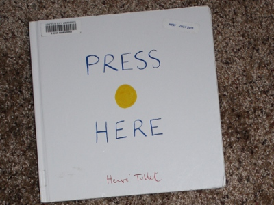 Press Here by Henre Tullet