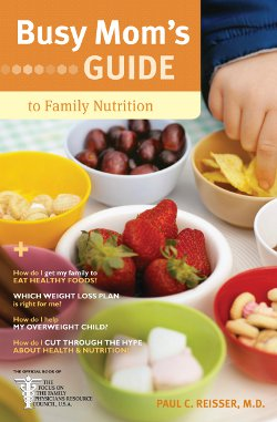 Cover to Busy Mom's Guide to Family Nutrition