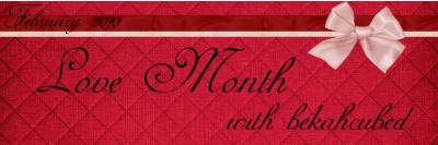 Love Month Banner