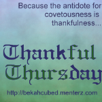 Thankful Thursday banner